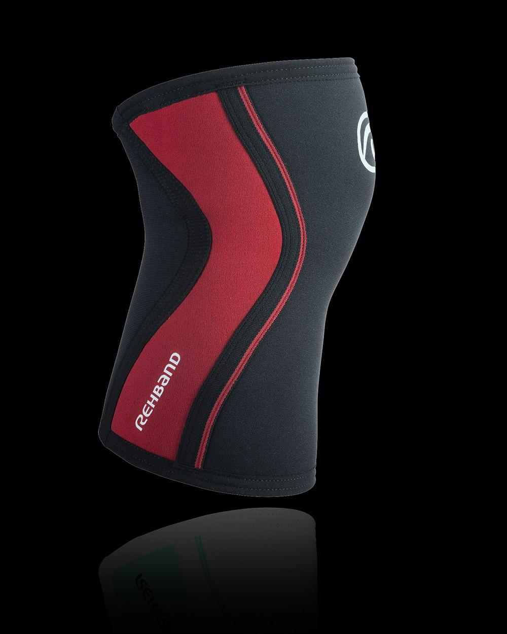 Rehband RX Kniebandage schwarz/rot 3mm