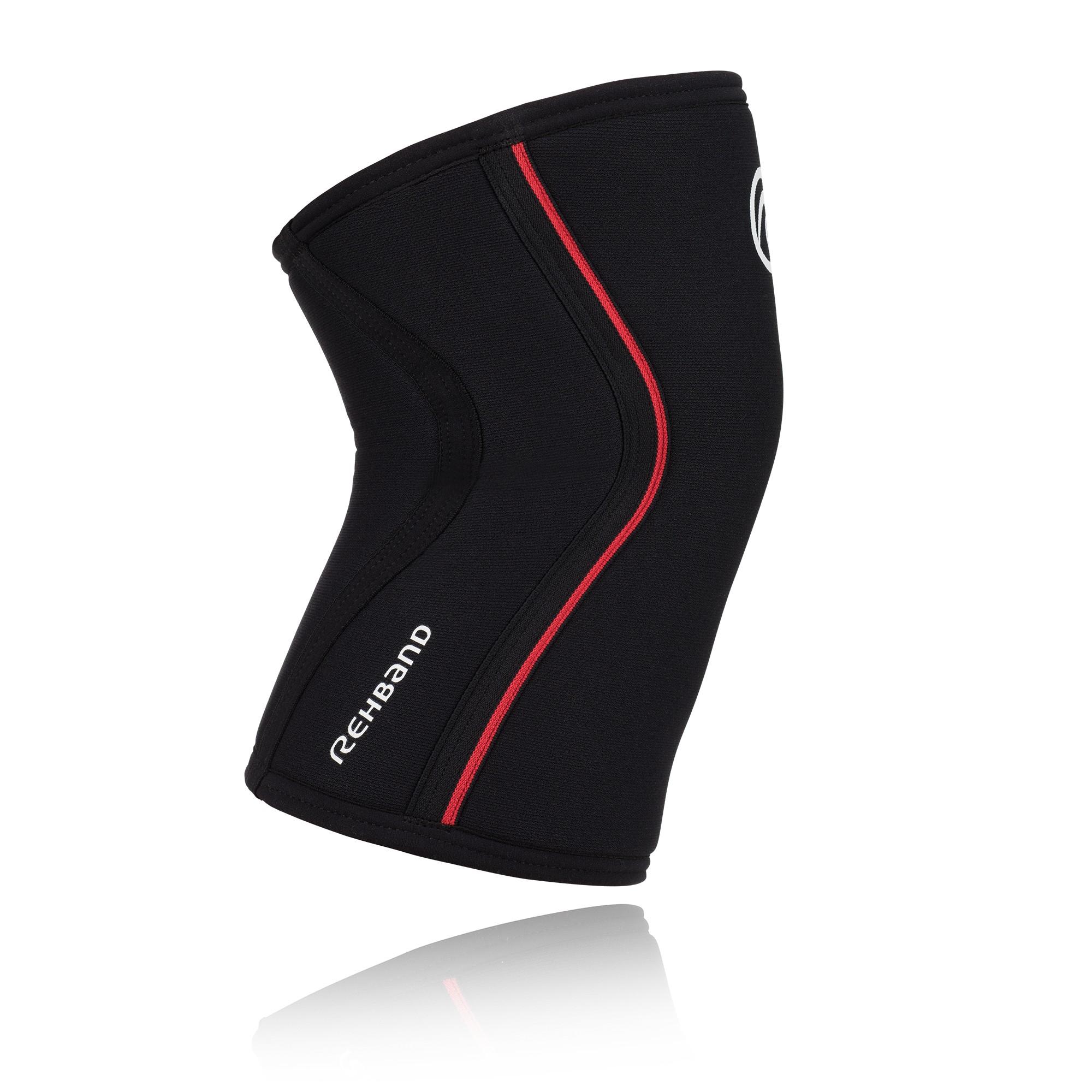 Rehband RX Kniebandage schwarz/rot