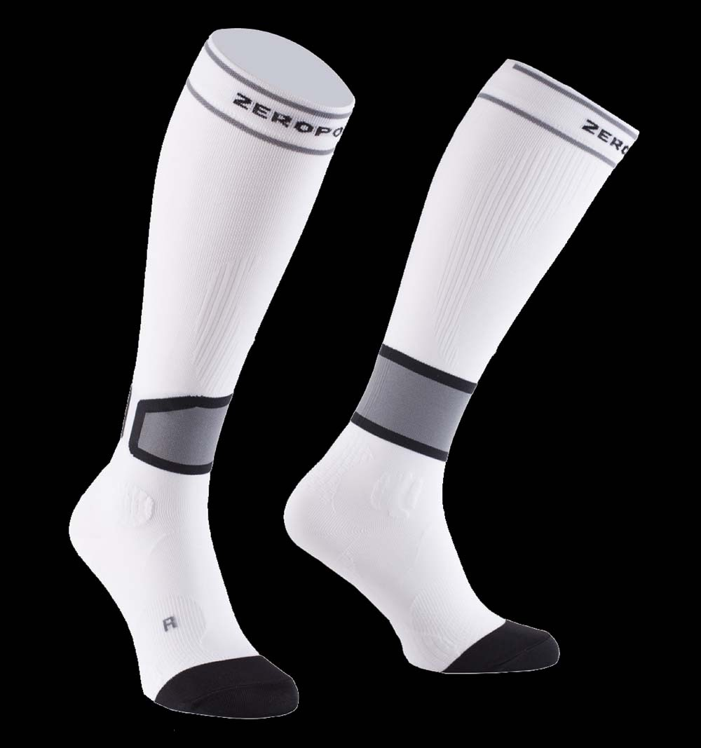 Zero Point Intense Compression Socks Men 2.0 white
