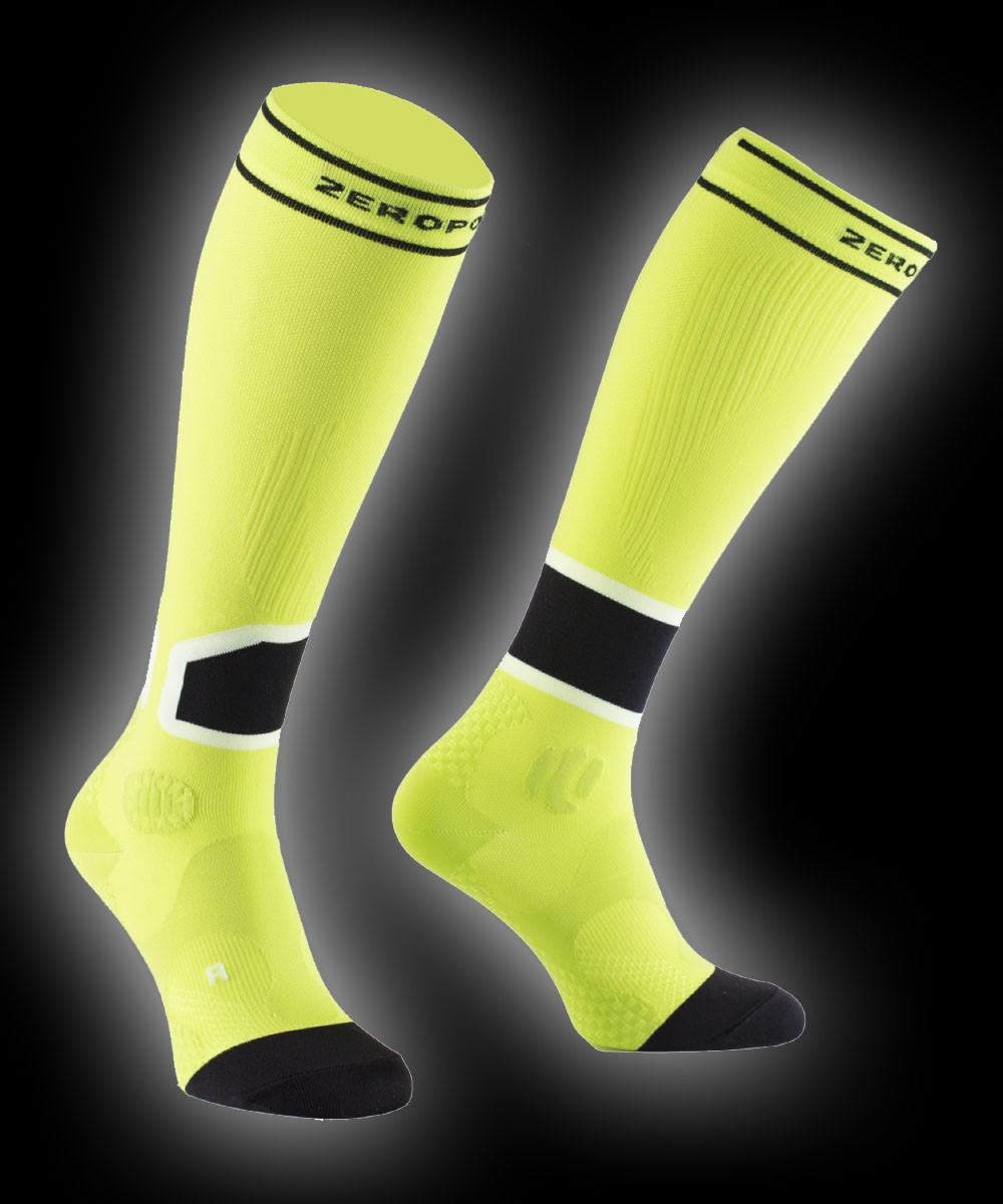Zero Point Intense Compression Socks Men 2.0 lime