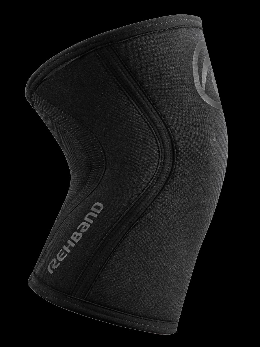 Rehband RX Kniebandage schwarz Carbon 7mm