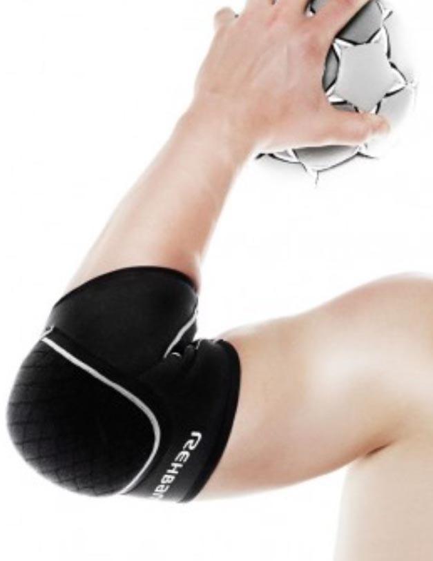 Rehband Ellbogenschutz Handball PRN schwarz