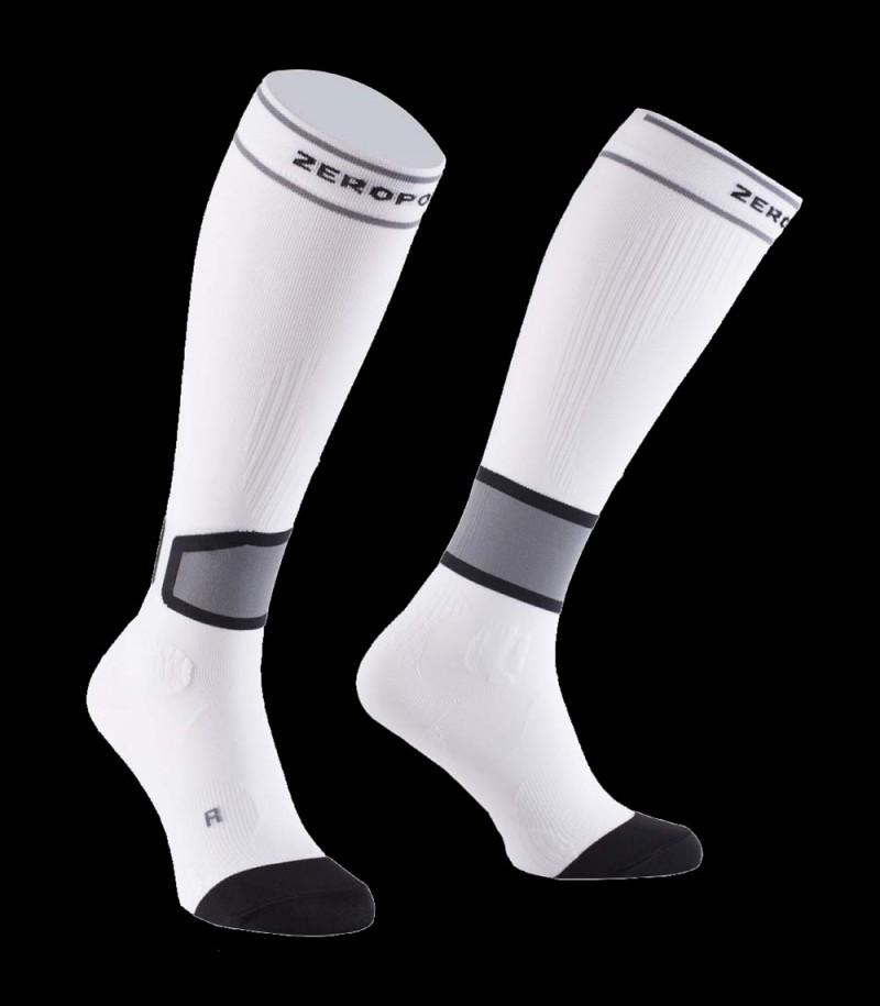 Zero Point Intense Compression Socks Men 2.0 white