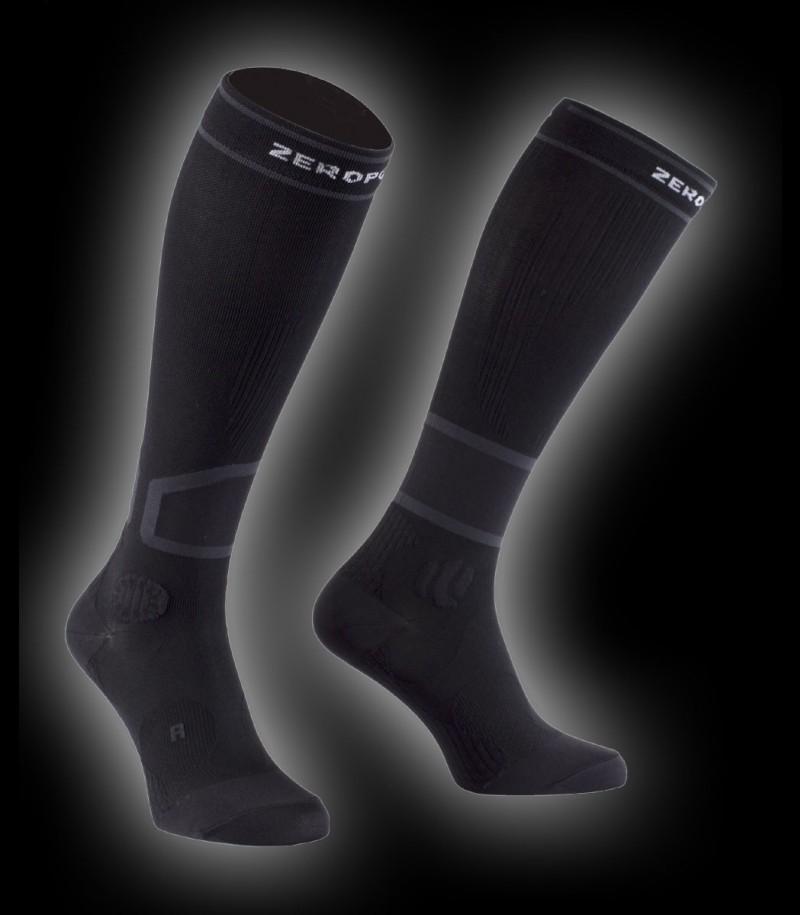 Zero Point Intense Compression Socks Men 2.0 black